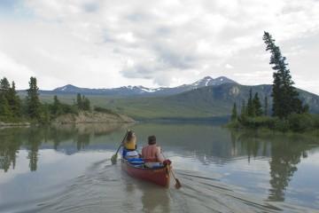 canoeing, Watson River